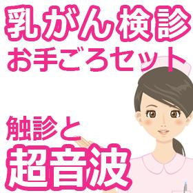 乳がん検診【触診+超音波】