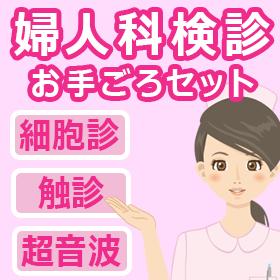婦人科検診【細胞診+触診+超音波】